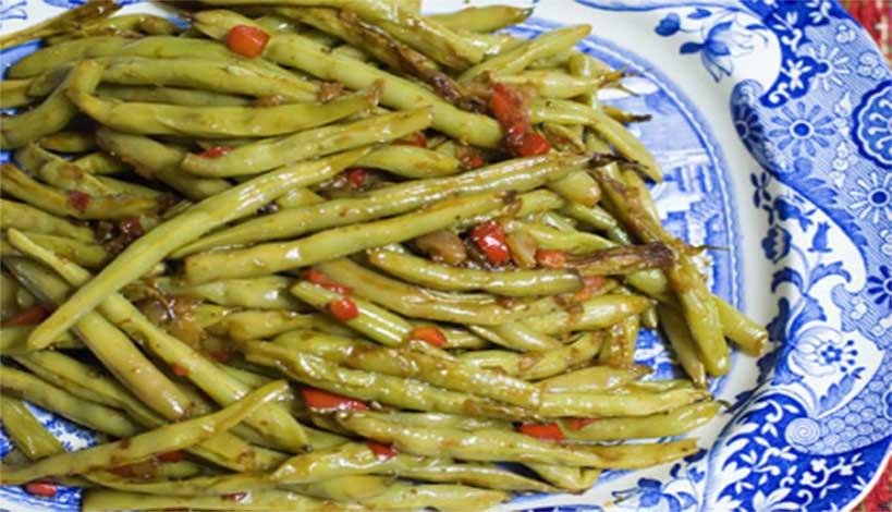 Aγιορείτικες Μοναστηριακές Συνταγές : Φασολάκια λαδερά