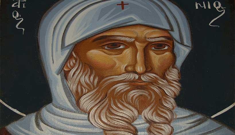 Ορθόδοξος συναξαριστής 17 Ιανουαρίου, Άγιος Αντώνιος ο Μέγας