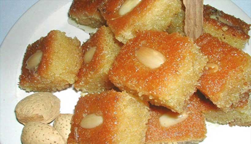 Aγιορείτικες Μοναστηριακές Συνταγές : Σάμαλι