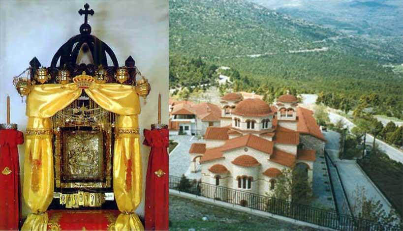 Παναγία Μαλεβή : Σταυρώθηκε με Άγιο Μύρο και έγινε το θαύμα