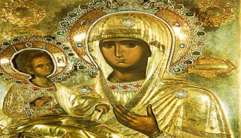 Άγιον Όρος - Παναγία Τριχερούσα : Η ιστορία της μοναδικής εικόνας της Θεοτόκου