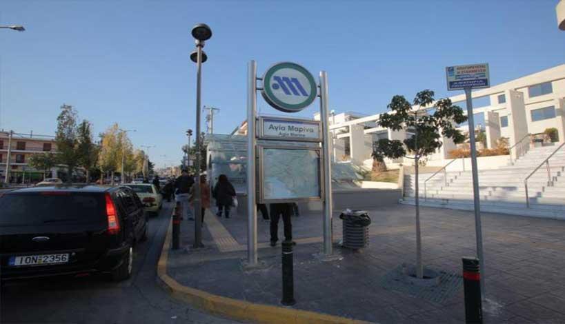 Αιγάλεω : Απίστευτες σκηνές στο Μετρό  -Πατέρας έστησε «ενέδρα» στον επίδοξο βιαστή της κόρης
