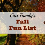 Our 2018 Fall Fun List