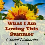 What I Am Loving This Summer (Social Distancing Version)