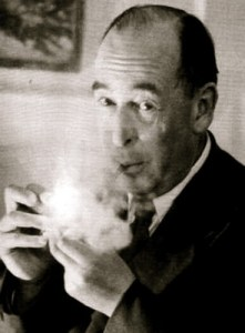 cs lewis smoking a cigar