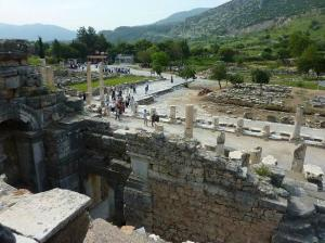 Ancient Ephesus - the Magnesian Gate