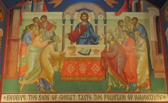 Communion of the Apostles by Fr Ted