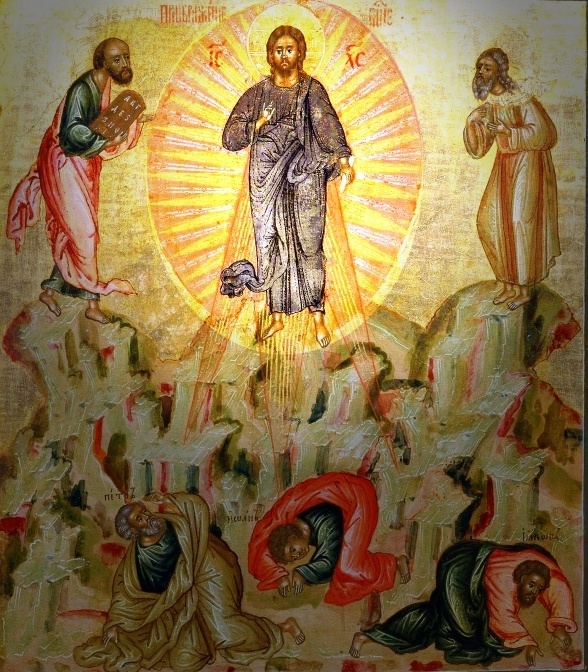 Transfiguration of Christ icon