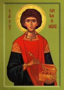 Saint Panteleimon the healer physician unmercenary doctor