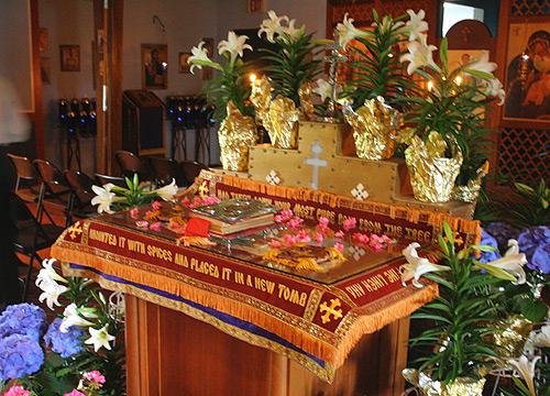 Holy Friday, Jesus Christ tomb