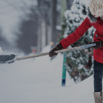 Common Snow Shoveling Injuries & Prevention Tips