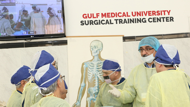 Stryker at GMU to train Middle East surgeons on hip replacements