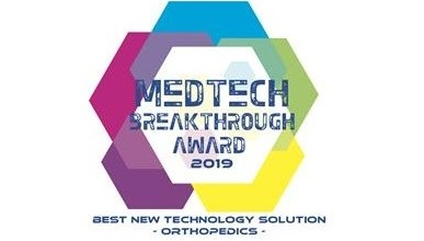 Photo of RTI Surgical® Wins 2019 MedTech Breakthrough Award for TETRAfuse® 3D Technology