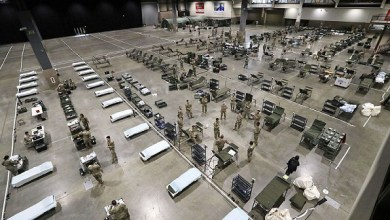 Photo of Military building 250-bed field hospital in Seattle, other makeshift centers expected in Washington