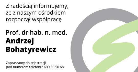 Prof. Andrzej Bohatyrewicz w Orthosport!