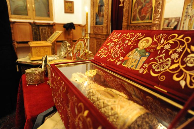 Αποτέλεσμα εικόνας για αγιος δημητριος λειψανο