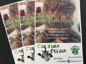 """Il volumetto di consigli: """"Per una convivenza felice"""" – Fonte: Centro di Cultura felina"""