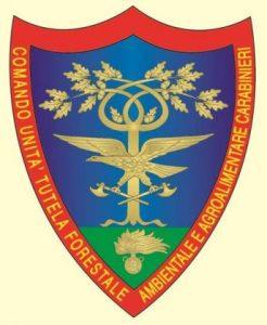 Stemma del Comando Unità per la Tutela Forestale, Ambientale e Agroalimentare – Fonte: ISPRA 