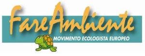 Logo Movimento ecologista FareAmbiente – Fonte: Sito FareAmbiente