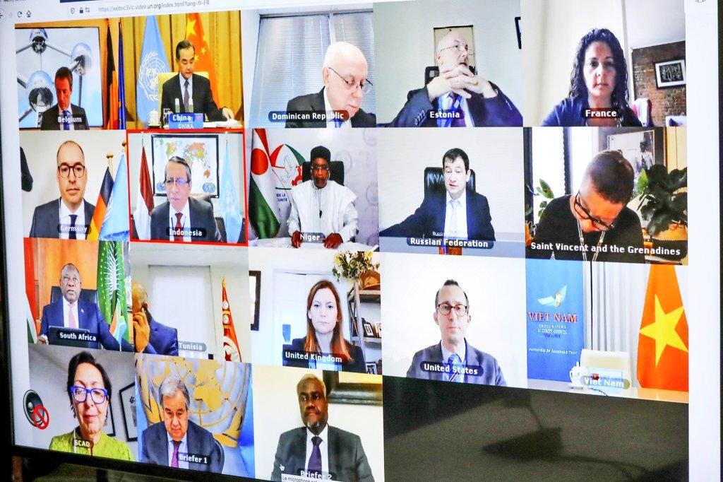 Allocution de SEM ISSOUFOU MAHAMADOU PR, Président de la Commission Climat pour la Région du Sahel lors de la table ronde de haut niveau sur les changements climatiques organisée par le SG de l'ONU.