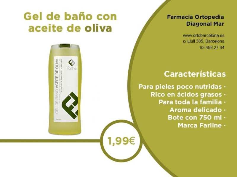 Gel de baño Farline aceite de oliva