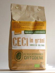 Prodotti biologici: Ceci dell' Az. Agr. Ortobene di Barchi