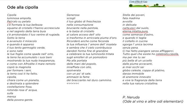 Poesia Cipolla