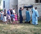 (Română) Fotografii de la slujba de seară din Montgeron în ajun de Adormirea Maicii Domnului