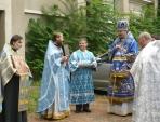Престольный праздник Покровского храма в Лионе