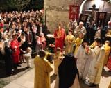 (Foto) Franța: Învierea Domnului la Biserica Sf. Serafim de Sarov din Montgeron