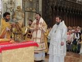 Franţa: În ajunul sărbătorii Sf. Ioan Botezătorul la moaştele Sf. Ioan din Amiens a fost săvârşită Sfânta Liturghie