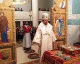 В ночь Светлого Христова Воскресения епископ Нестор совершил Пасхальные богослужения в Троицком соборе в Париже