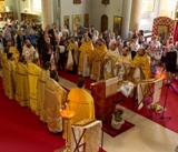 (Foto) Hramul Bisericii Sfinților Apostoli Petru și Pavel din Como, Italia, 12 iulie 2018