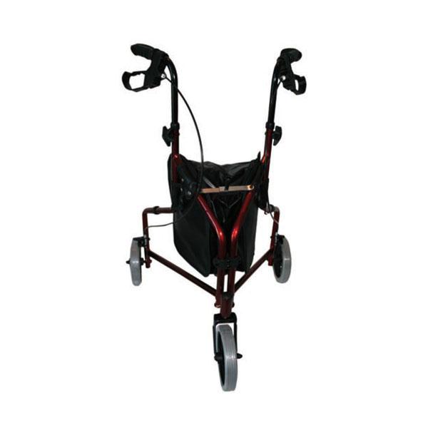 Andador para adultos de aluminio con 3 ruedas SOHO