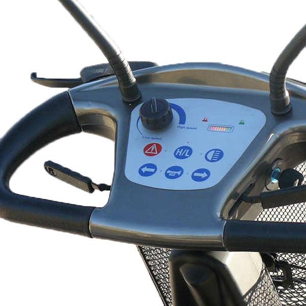Scooter eléctrico 4 ruedas Grand Classe Libercar Máximo equipamiento-2