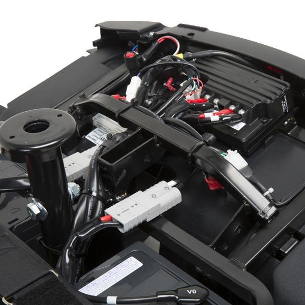 Scooter eléctrico Comet Alpine + Invacare Potente, robusto y seguro-3
