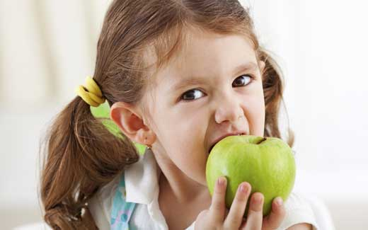 Alimentação Saudável = Dentes Saudáveis