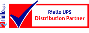 Riello authorised distribution partner logo - Ortus UK Ltd