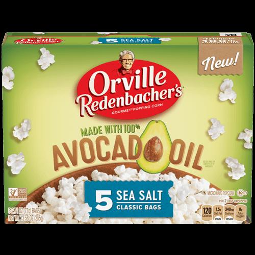 avocado oil popcorn