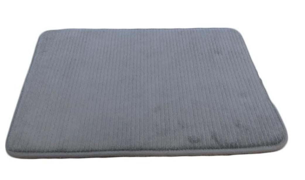 tapis sortie de bain secure soft gris