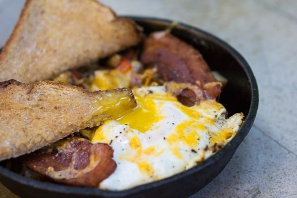 Country Kitchen Breakfast Skillet