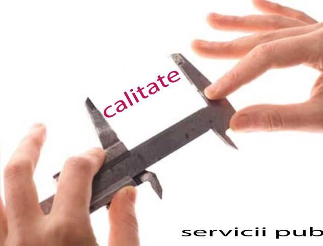 Servicii publice de calitate