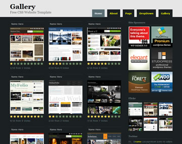 Gallery Website Template Free Website Templates Os Templates