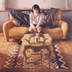 2000年「刻」S100号 キャンバス、エマルジョン地、油彩