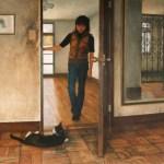 2005年「扉」F100号 キャンバス、エマルジョン地、油彩