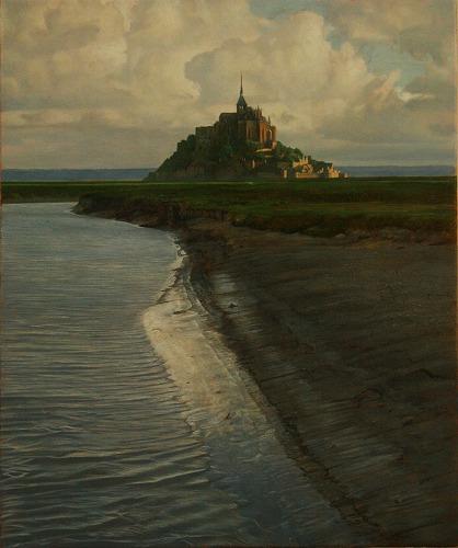 2011年「La terre」F8号 パネル、油彩