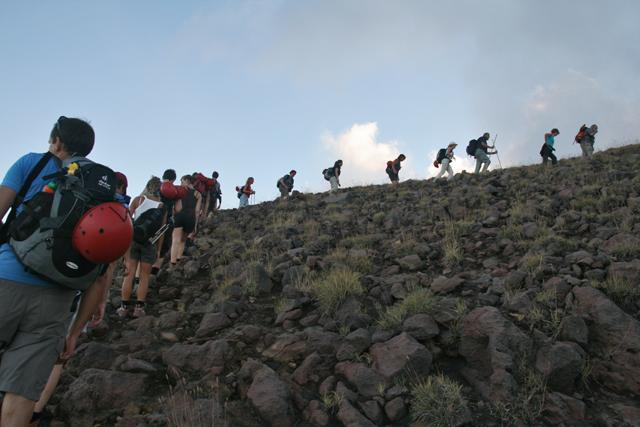 Salita vulcano Stromboli