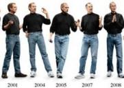 スティーブ・ジョブズがいつも履いているジーンスは?
