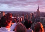 トップ・オブ・ザ・ロック – エンパイアステートビルが最も美しく見える展望台