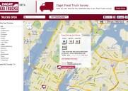 Zagatによるフード・トラック検索サービス「Zagat Food Trucks」